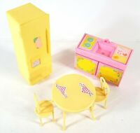 Vintage My Little Pony G1 Paradise Estate Kitchen Furniture 1980's B946