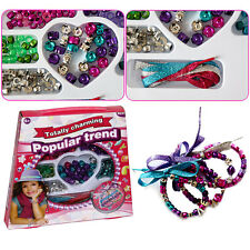 Jewelry Making Bead Set Kid's Charming Beads Necklace Bracelet DIY Craft Kit