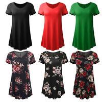 Hot Women Ladies T-Shirt Short Sleeve O-Neck Casual Tops Blouse Tunic Tops Shirt