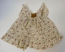 Vintage 1983 Pauline B. Jonness Jacobsen doll dress Floral purple white