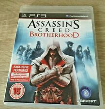 ASSASSIN'S CREED: BROTHERHOOD (Sony PlayStation 3, 2010) PS3 GAME W/M