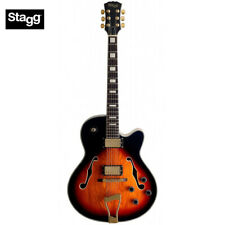STAGG A300 VINTAGE STANDARD JAZZ HOLLOW BODY ELECTRIC GUITAR VINTAGE SUNBURST