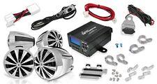 OPTIMC92 1400W Motorcycle/ATV/Snowmobile Mount 4 Ch Amp/Speakers MP3/iPod/USB/SD