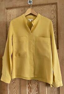 COS Shirt, Yellow, Size 40 (14) BNWT