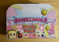 Squeezamals Exclusive Picnic Pack Plush Set  New. Ages 3+ free shipping.