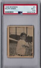 1948 Bowman Ralph Kiner Rookie #3 PSA 5.5 CS139