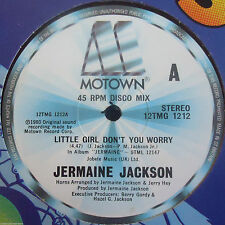 Jermaine Jackson - Little Girl Don't You Worry / We Can Put It Back Together 12""