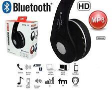 Bluetooth Stereo Wireless Headphones Foldable FM Cordless Headset TF Card New