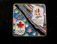 1992 ALBERTVILLE France WINTER Olympic CANADA NOC team delegation pin very rare