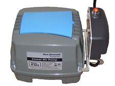BLUE DIAMOND ET60A ALARMED SEPTIC AIR AERATOR PUMP COMPRESSOR TREATMENT ATU POND