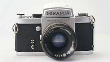 Miranda F (T) 35mm SLR Body + Lens Miranda 1:1.9 5cm. No. 696133