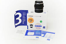 Leica M Zeiss C Sonnar T 1,5/50mm ZM No Summilux M6 M7 M8 Scatolato + Paraluce