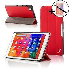 Pelle Rosso Smart Case per Samsung Galaxy Tab PRO 8.4 + Proteggischermo & Stilo