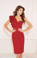 Lipsy Women's One Shoulder Satin Dresses