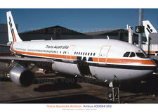 TRANS AUSTRALIA AIRLINES TAA AIRBUS A300B4-203 A3 POSTER PRNT PICTURE PHOT IMAGx
