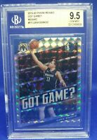 2019 Panini Mosaic LUKA DONCIC BGS 9.5 Gem Mint Got Game? #11 Silver Prizm