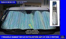 Parasole per parabrezza anteriore auto riflettente argento metallico para sole S