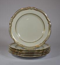 6 Copeland Spode Sheffield China Dessert Plates - Cream