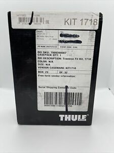 Thule Gutter Mount Foot Pack KIT 1718 Acura ILX & Honda Civic  NEW SEALED