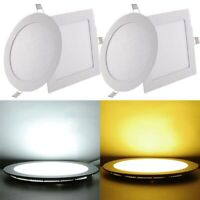 220V Recessed LED Ceiling Downlight Bulb Cup Home Decor Spotlight Lamp 3W~12W