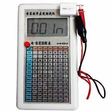 LCD Screen Digital Capacitor ESR Tester Internal Resistance Meter In Circuit