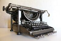 Antique Remington Typewriter - Polished Steel - One of a kind!