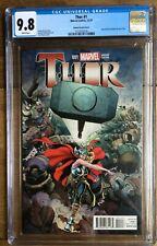 Thor #1 Adams Variant Cover CGC 9.8 2137052018