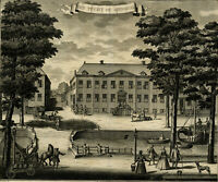 Antique Print-THE HAGUE-TUCHTHUIS-SPINHUIS-RASP HOUSE-JAIL-Riemer-Boitet-1730