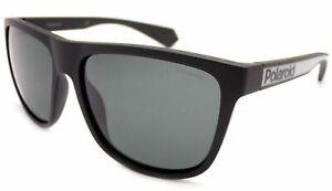 POLAROID Polarized Sunglasses Matte Black/ Dark Grey Lenses  PLD6062 003