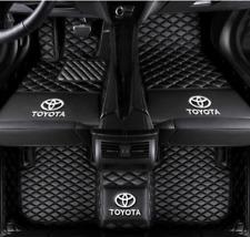 New Listingfor Toyota Camry Corolla Leather Car Floor Mats Waterproof Matlogo Fits 2012 Toyota Corolla