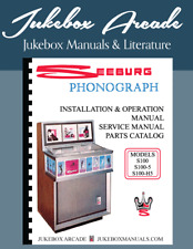 Seeburg S100, S100-5, S100-H5 Service & Parts Manual ,Installation & Operations