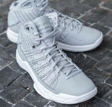 New Nike Hyperdunk Lux 3M Reflective Grey Retro Basketball Trainers UK 9 EU 44