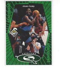 1998-99 UPPER DECK UD CHOICE BASKETBALL STARQUEST GREEN SHAWN KEMP #SQ5