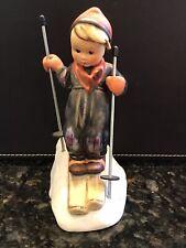 Vintage Goebel Hummel Germany Child Skier Ski Poles #59