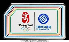 OLYMPIC PIN BEIJING 2008 CHINA MOBILE COLORFUL LOGO DSN