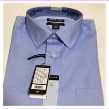 Kirkland Signature Men's  Wrinkle-free Dress Shirt Blue 15-32/33