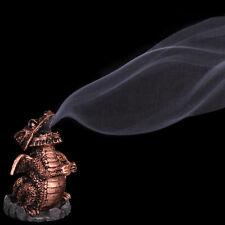 Il fumo Drago Incenso Bruciatore titolare CONI DI RAME COLORE. regalo di Natale.