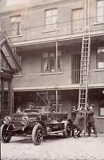 Sheffield. Fire Brigade Vehicle & Ladder Drill.