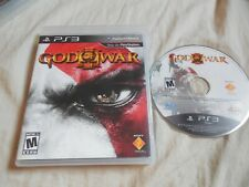 God Of War III PlayStation 3 PS3 NO MANUAL