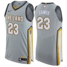 Nike City Edition Authentic Jersey Lebron James L The Land AH6048-007 Cavs NBA