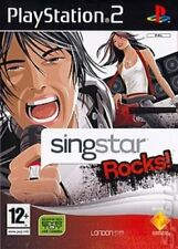 SingStar Rocks! (PS2) VideoGames