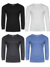 2 Mens Thermal Long Sleeve T-Shirt Vest Winter Ski Underwear / S M L XL XXL