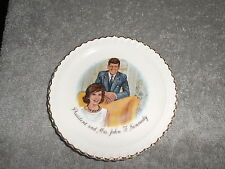 PRESIDENT AND MRS. JOHN F. KENNEDY - MINI SAUCER