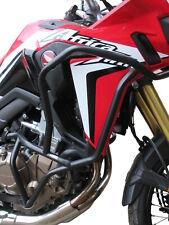 Paramotore Crash Bars HEED Honda CRF 1000 Africa Twin - Bunker nero