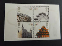 GB MNH STAMP SHEET 2008 Olympic Flag Handover Beijing SG MS2861 UMM