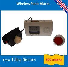 Wireless pánico Alarma + Cierre Sirena (300 metros rango de funcionamiento inalámbrico)