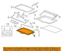 GM OEM Sunroof-Lower Frame 89044585