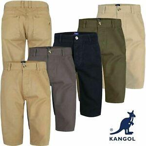 Mens Chino Summer Shorts Knee Length Long 3/4 Casual Bottom Cotton Pant Branded
