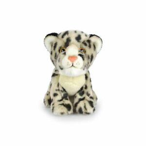 Korimco 18cm Lil Friends Snow Leopard Kids Soft Plush Stuffed Toy Beige 3y+