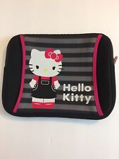 Hello Kitty Tablet Case iPad Case Zipper Outside zipper pocket Up to 10in NEW!